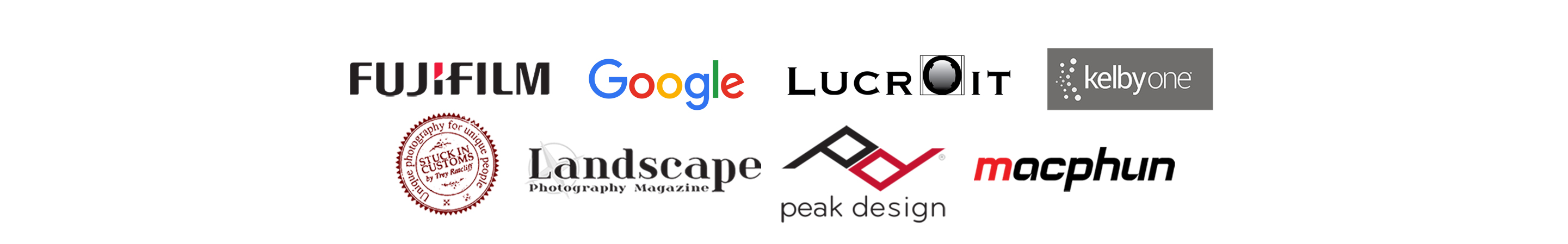 Collection of media logos