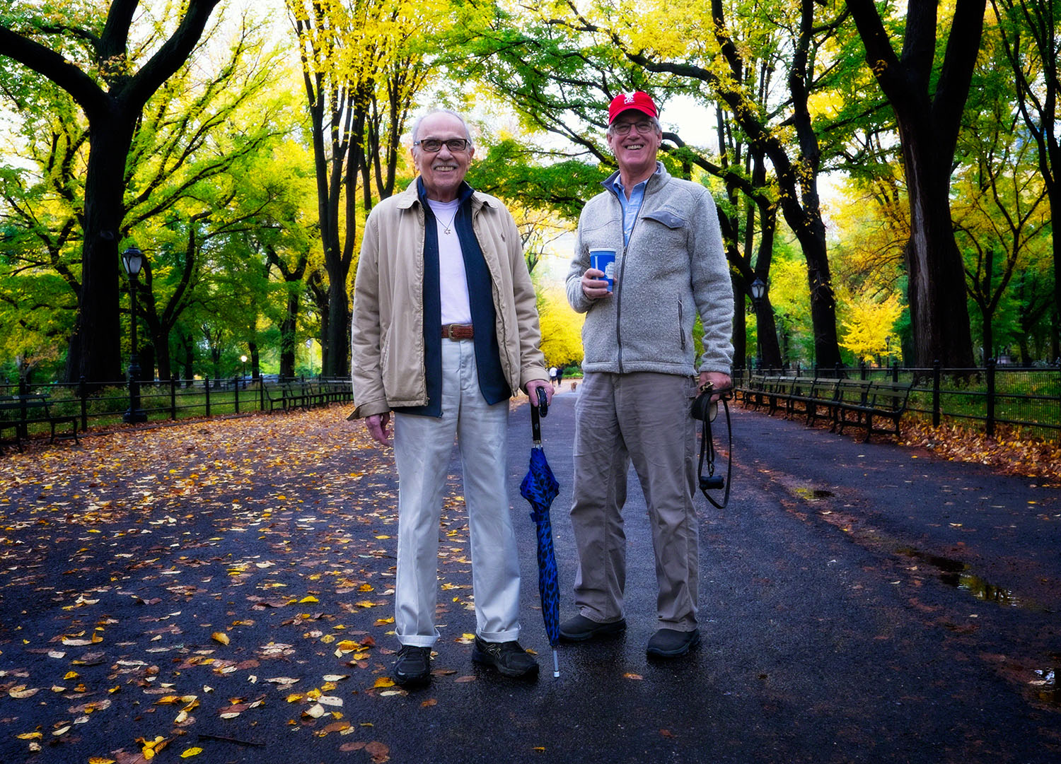Paul Loeb & Bryan Oliphant in Central Park