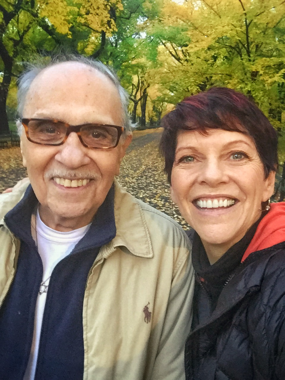 Paul Loeb & Karen Hutton selfie